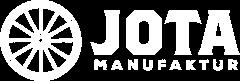 Jota Manufaktur logo white